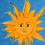 sun with edge