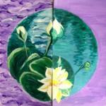 lotus yin-yang