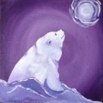Moon Glow Polar Bear
